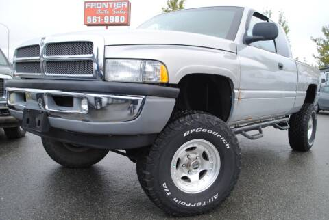 2000 Dodge Ram Pickup 1500 for sale at Frontier Auto & RV Sales in Anchorage AK