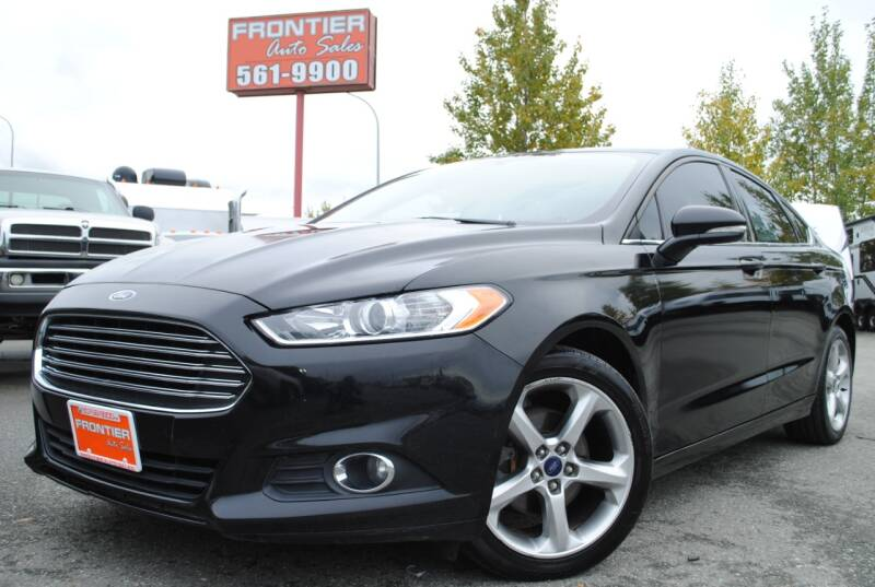 2016 Ford Fusion for sale at Frontier Auto & RV Sales in Anchorage AK