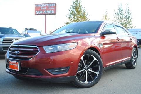2014 Ford Taurus for sale at Frontier Auto & RV Sales in Anchorage AK