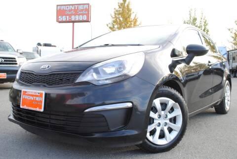 2017 Kia Rio for sale at Frontier Auto & RV Sales in Anchorage AK