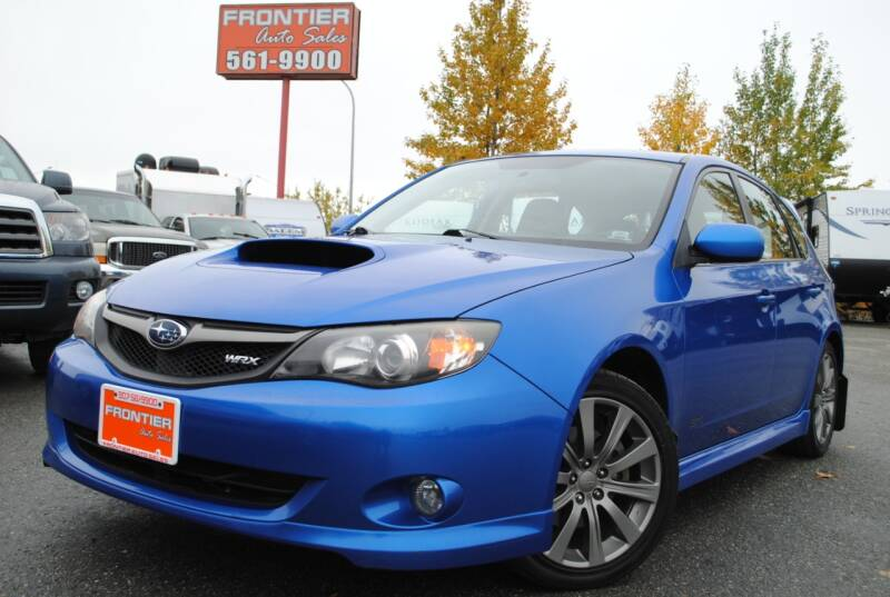 2009 Subaru Impreza for sale at Frontier Auto & RV Sales in Anchorage AK