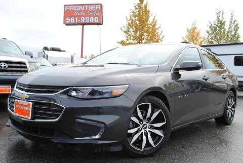 2016 Chevrolet Malibu for sale at Frontier Auto & RV Sales in Anchorage AK