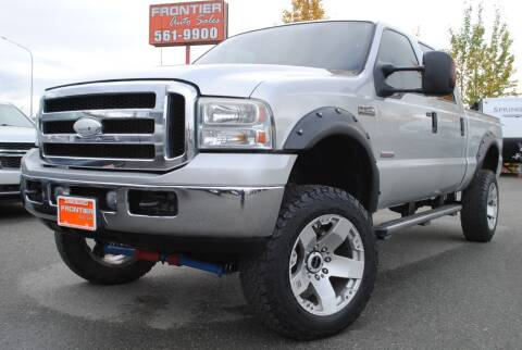 2006 Ford F-250 Super Duty for sale at Frontier Auto & RV Sales in Anchorage AK