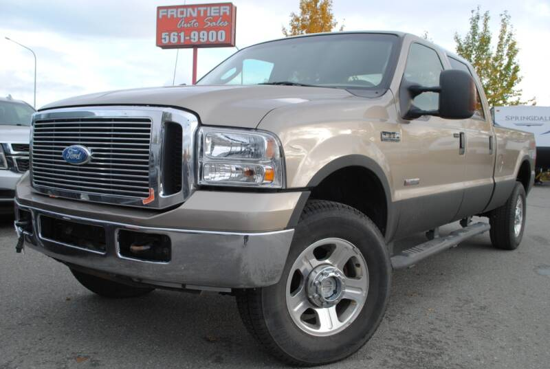 2005 Ford F-350 Super Duty for sale at Frontier Auto & RV Sales in Anchorage AK