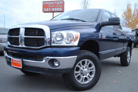 2007 Dodge Ram Pickup 2500 for sale at Frontier Auto & RV Sales in Anchorage AK