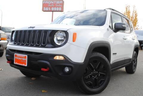 2017 Jeep Renegade for sale at Frontier Auto & RV Sales in Anchorage AK