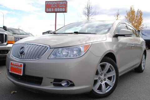 2010 Buick LaCrosse for sale at Frontier Auto & RV Sales in Anchorage AK