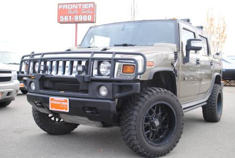 2006 HUMMER H2 SUT for sale at Frontier Auto & RV Sales in Anchorage AK