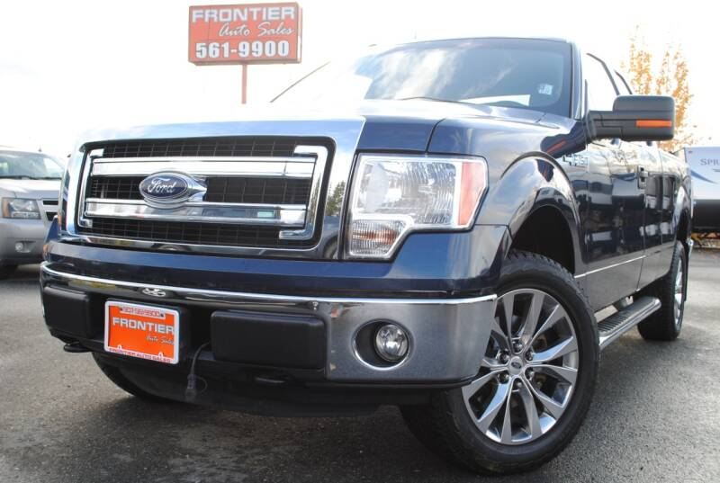 2014 Ford F-150 for sale at Frontier Auto & RV Sales in Anchorage AK