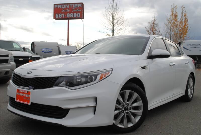 2016 Kia Optima for sale at Frontier Auto & RV Sales in Anchorage AK