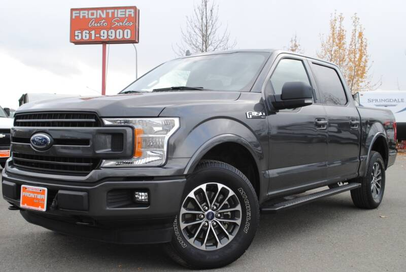2018 Ford F-150 for sale at Frontier Auto & RV Sales in Anchorage AK