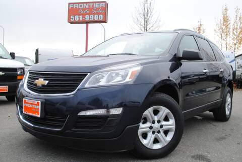2016 Chevrolet Traverse for sale at Frontier Auto & RV Sales in Anchorage AK