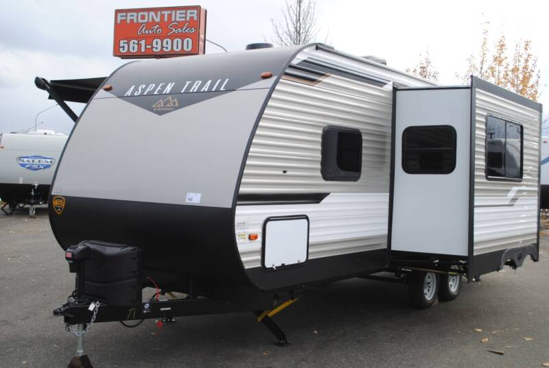 2021 Aspen Trail 2340BHSWE for sale at Frontier Auto & RV Sales in Anchorage AK