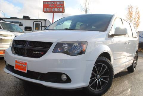 2016 Dodge Grand Caravan for sale at Frontier Auto & RV Sales in Anchorage AK