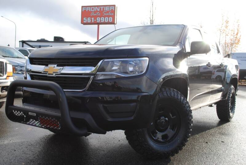 2016 Chevrolet Colorado for sale at Frontier Auto & RV Sales in Anchorage AK