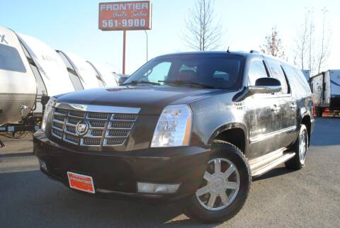 2008 Cadillac Escalade ESV for sale at Frontier Auto & RV Sales in Anchorage AK