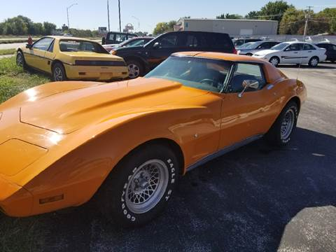 1977 Chevrolet Corvette for sale in Lincoln, NE