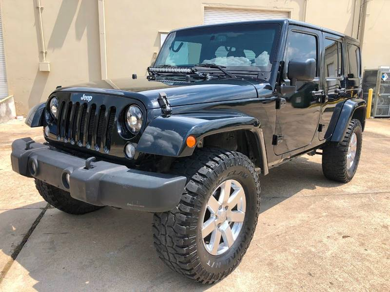 2015 Jeep Wrangler Unlimited for sale at The Auto & Marine Gallery of Houston in Houston TX