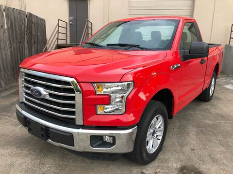 2016 Ford F-150 for sale at The Auto & Marine Gallery of Houston in Houston TX
