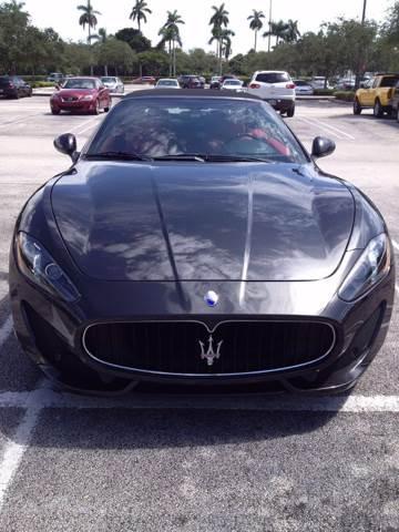 2013 Maserati GranTurismo Sport 2dr Convertible - Miami FL
