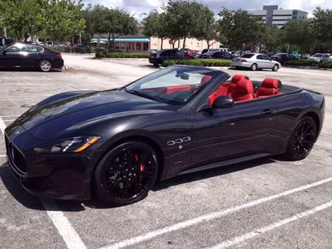 2013 Maserati GranTurismo for sale at The Stables Miami in Miami FL