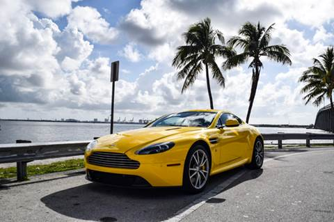 2012 Aston Martin V8 Vantage for sale at The Stables Miami in Miami FL