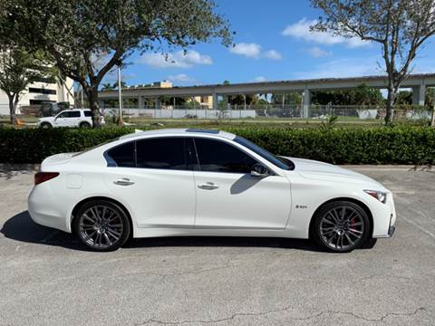 2018 Infiniti Q50 for sale at The Stables Miami in Miami FL
