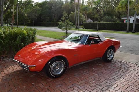 1970 Chevrolet Corvette for sale at The Stables Miami in Miami FL