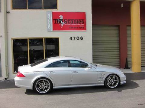 2006 Mercedes-Benz CLS-Class for sale at The Stables Miami in Miami FL