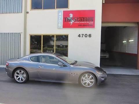 2009 Maserati GranTurismo for sale at The Stables Miami in Miami FL