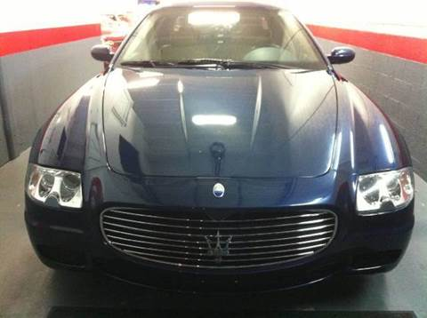 2005 Maserati Quattroporte for sale at The Stables Miami in Miami FL