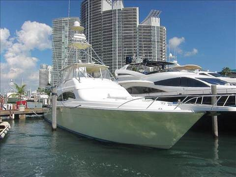 2004 Bertram 630 Convertible for sale at The Stables Miami in Miami FL
