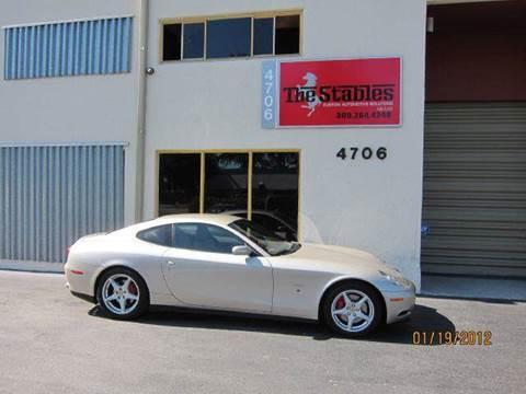 2005 Ferrari 612 Scaglietti for sale at The Stables Miami in Miami FL