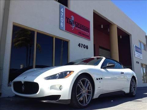 2012 Maserati GranTurismo for sale at The Stables Miami in Miami FL