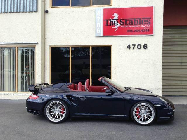 2008 Porsche 911 Turbo Cabriolet In Miami Fl The Stables Miami