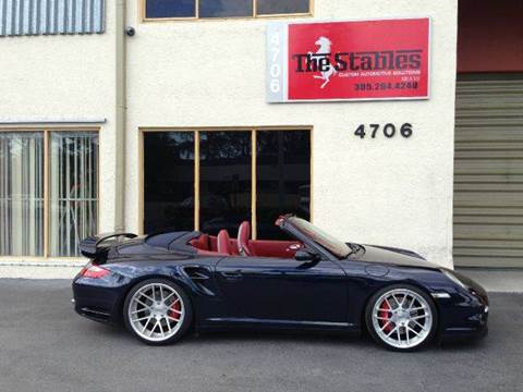 2008 Porsche 911 for sale at The Stables Miami in Miami FL