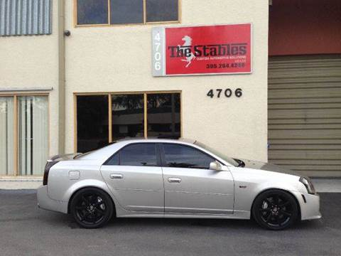2005 Cadillac CTS-V for sale at The Stables Miami in Miami FL