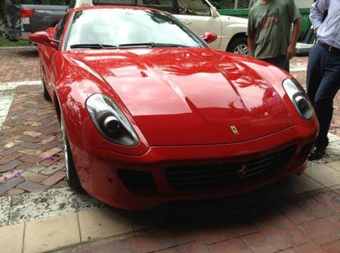 2008 Ferrari 599 GTB Fiorano for sale at The Stables Miami in Miami FL