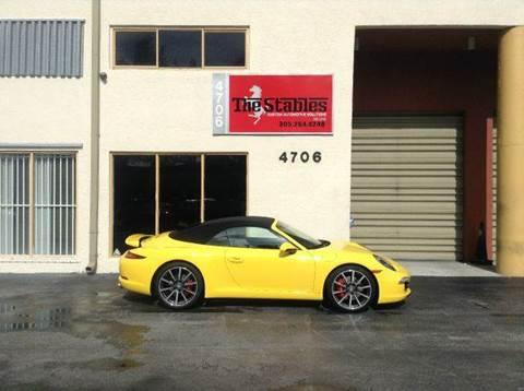 2013 Porsche 911 for sale at The Stables Miami in Miami FL