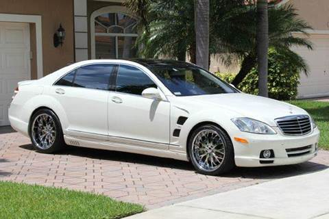 2008 Mercedes-Benz S-Class for sale at The Stables Miami in Miami FL