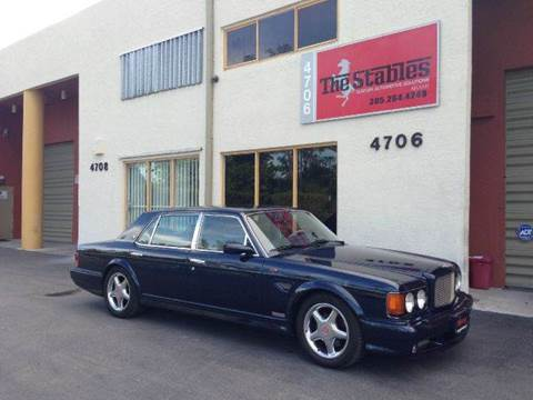 1998 Bentley Turbo R for sale at The Stables Miami in Miami FL