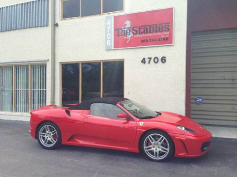 2007 Ferrari F430 for sale at The Stables Miami in Miami FL