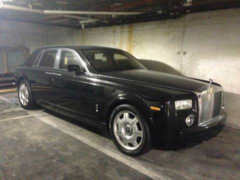 2006 Rolls-Royce Phantom for sale at The Stables Miami in Miami FL