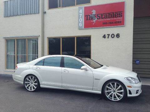 2009 Mercedes-Benz S-Class for sale at The Stables Miami in Miami FL