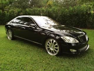 2007 Mercedes-Benz S-Class for sale at The Stables Miami in Miami FL