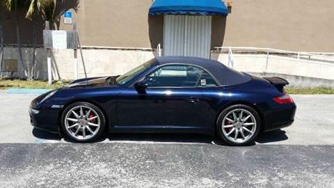 2008 Porsche 911 for sale at The Stables Miami in Miami FL