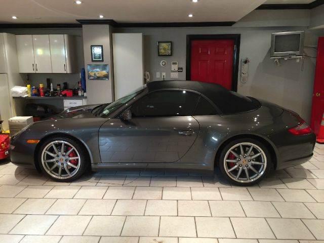 2007 Porsche 911 Carrera 4s Cabriolet In The Stables Miami