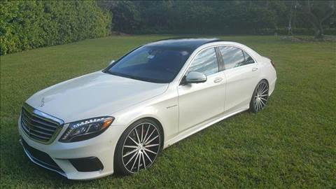 2014 Mercedes-Benz S-Class for sale at The Stables Miami in Miami FL