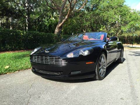 2006 Aston Martin DB9 for sale at The Stables Miami in Miami FL