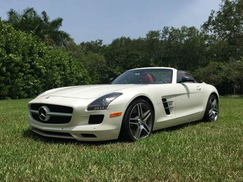 2012 Mercedes-Benz SLS-Class for sale at The Stables Miami in Miami FL